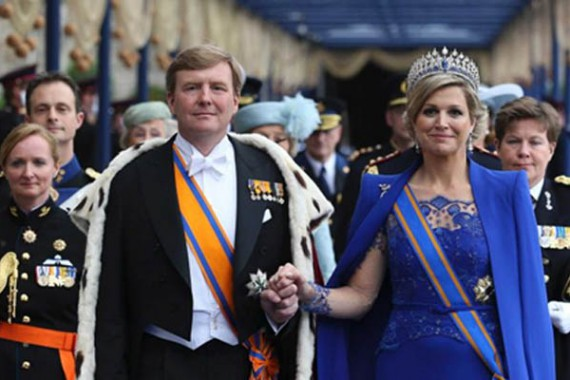 "On the 26th of April 2014, King Willem Alexander and Queen Máxima of The Netherlands will celebrate their first ""Koningsdag"" (Kings Day)."