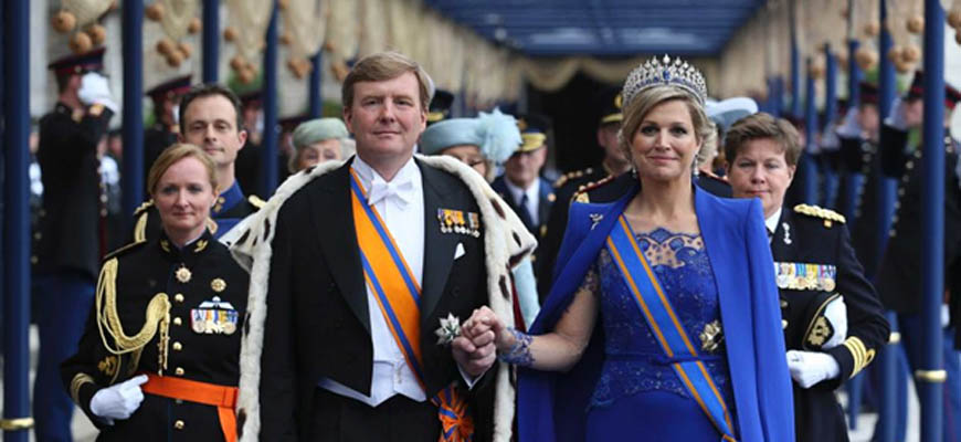 """On the 26th of April 2014, King Willem Alexander and Queen Máxima of The Netherlands will celebrate their first """"Koningsdag"""" (Kings Day)."""
