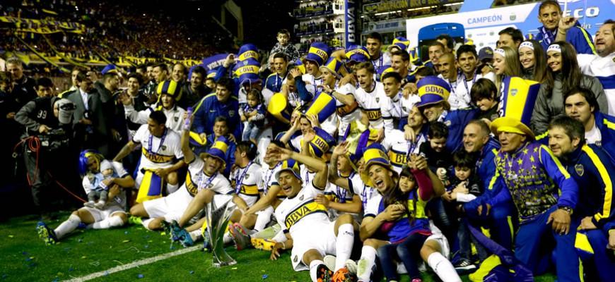 Boca Juniors win their 25th Argentine soccer league title