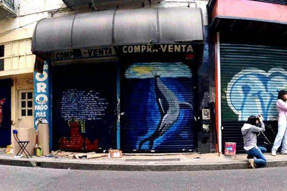 Project Graffiti on Uruguay Street