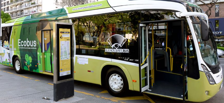First Eco-Friendly bus in Buenos Aires