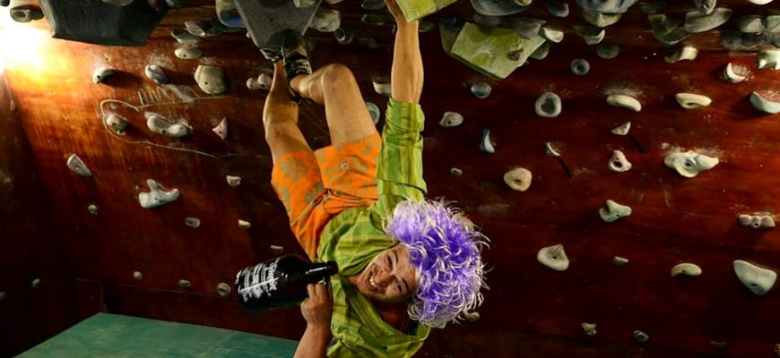 New Buenos Aires Brewery Combines Rock Climbing with Beer