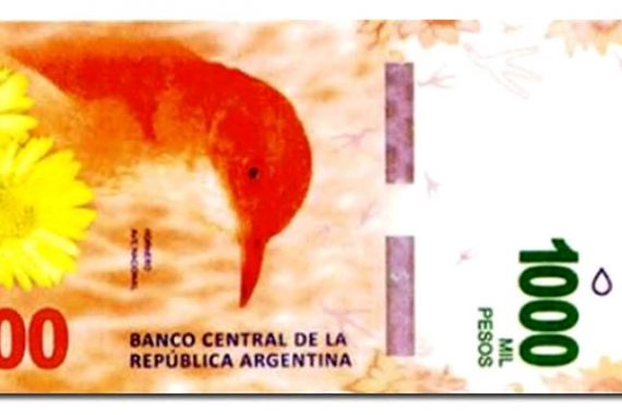 Changes to Argentinian Currency Set for October