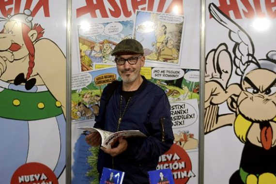 "Possible Patagonia Edition of ""Asterix and Obelix"" Suggested by Writer"