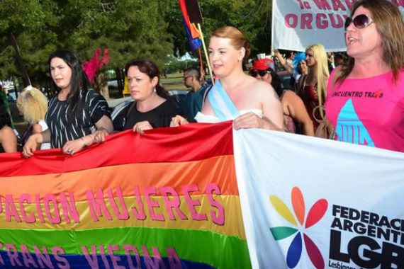 26th LGBTIQ National Pride March Held in Buenos Aires